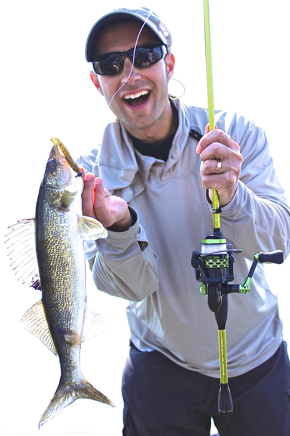 Great for casting jigs for walleyes