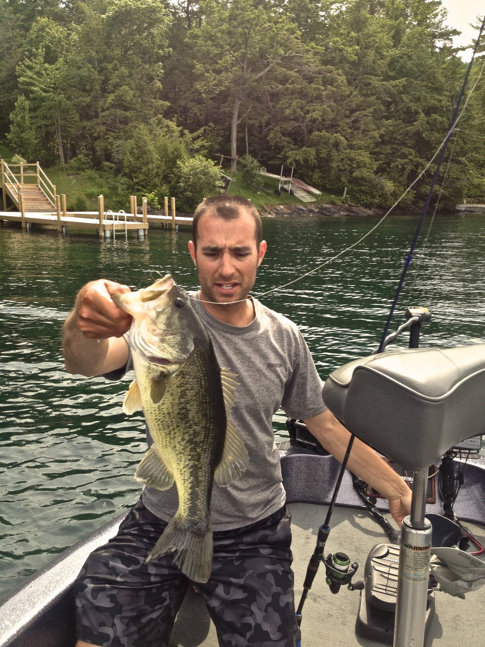 "Scott Martin TCS 6'9"" M+ makes a great dock rod"
