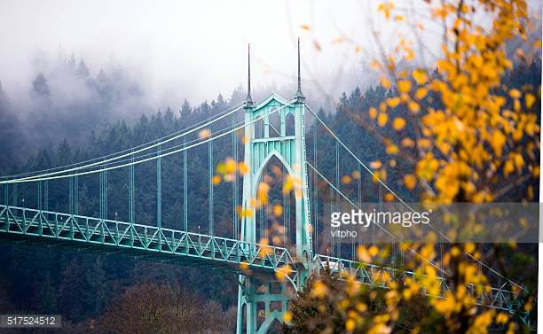 St. John's bridge in Portland, OR.  Photo by vitpho/iStock / Getty Images