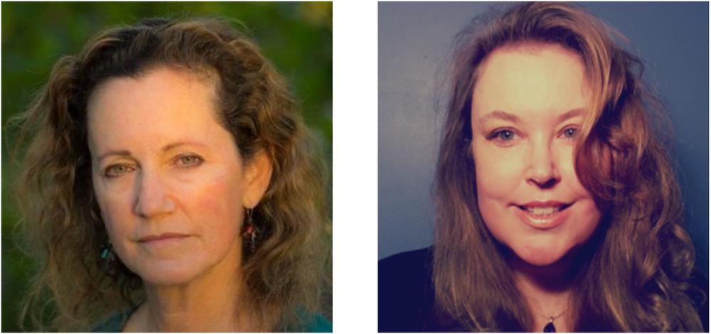 Dr. Lauren Heine and Anna Montgomery