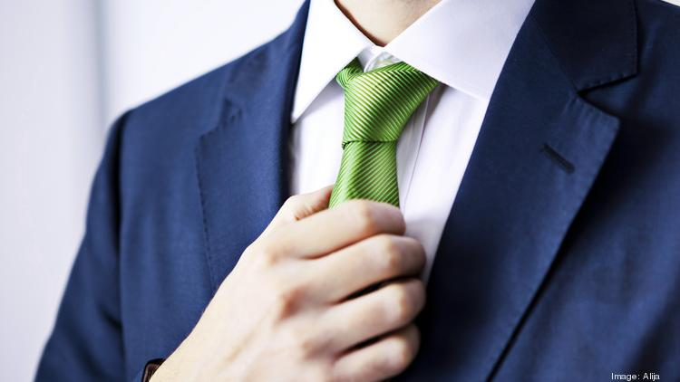 The Windsor knot says one thing, the four-in-hand says another, and the bow tie says yet…  more   ISTOCK (ALIJA)