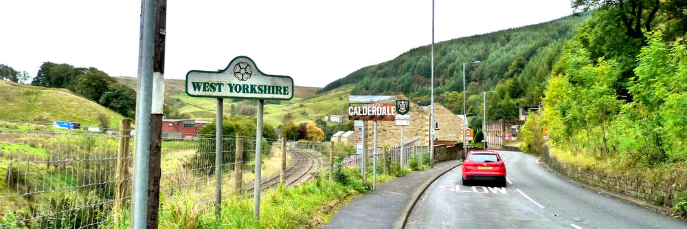 West Yorkshire boundary marker
