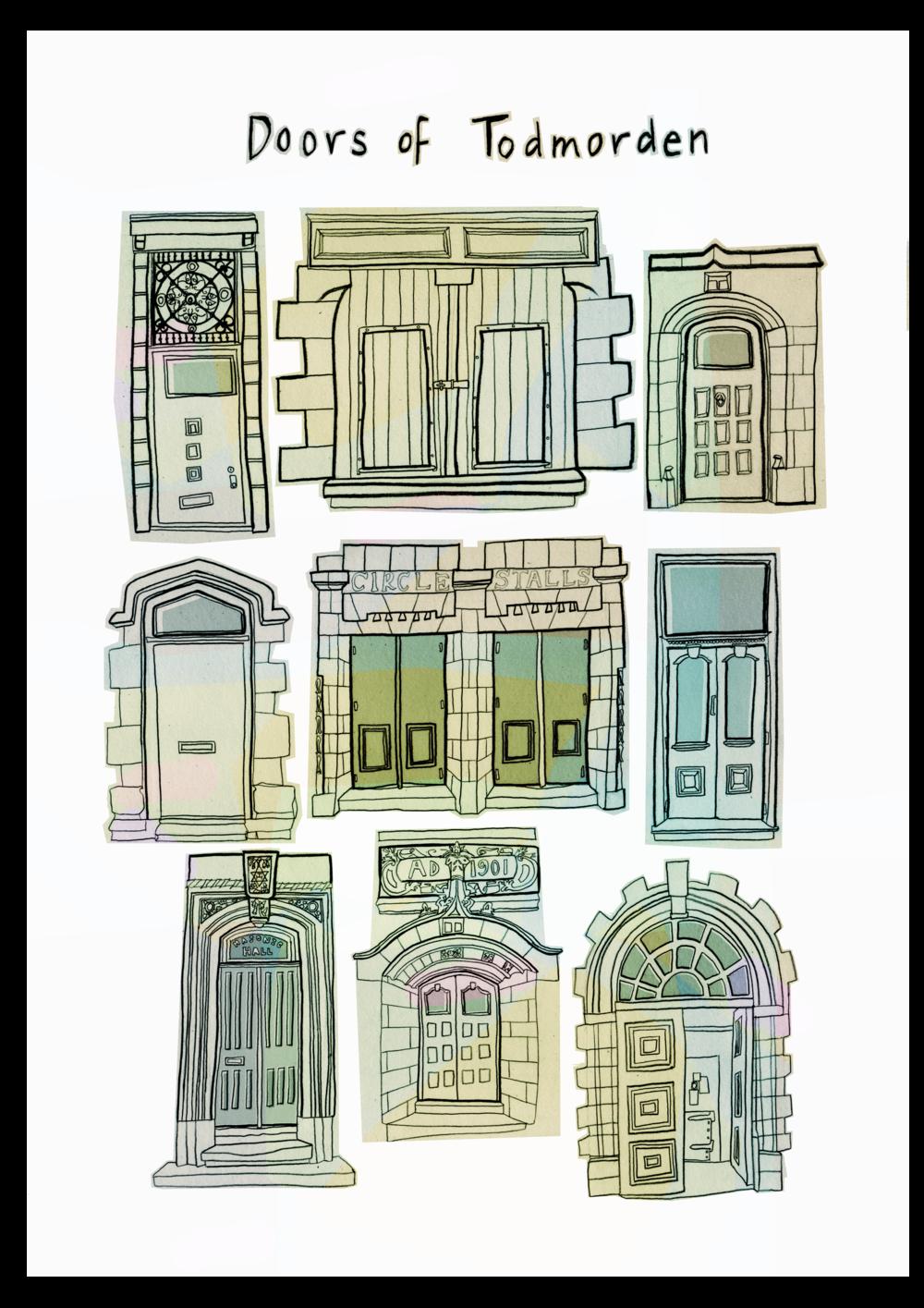 Doors of Todmorden
