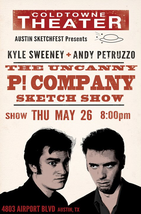 The P! Company flyer