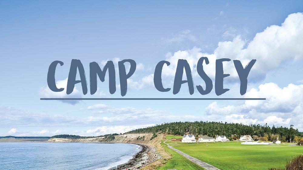 CAMP CASEY JR HI RETREAT - NOVEMBER 9 - 11TH
