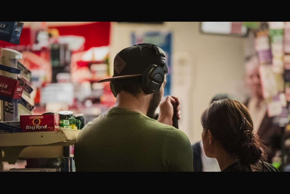 The Cashier behind the scene