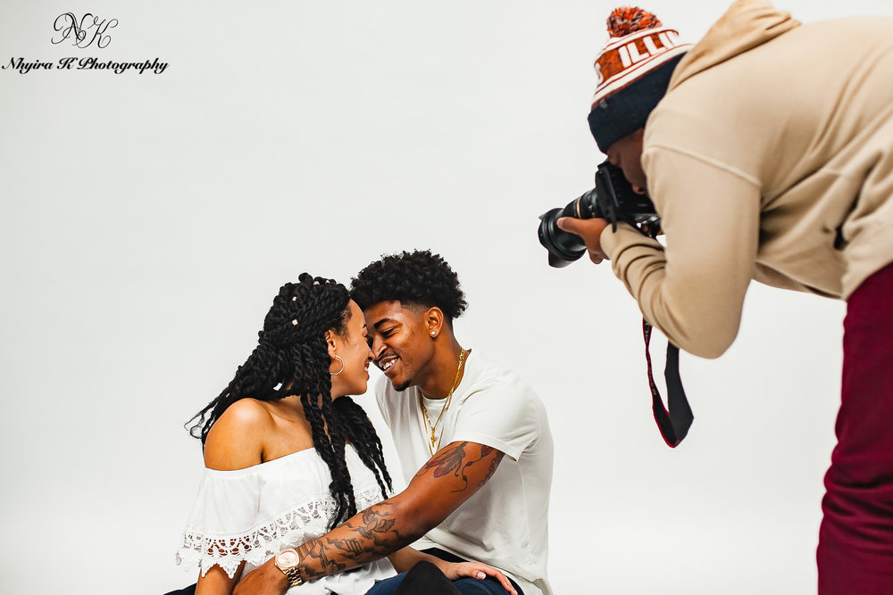 Couple's Shoot for Kendall & DIandre