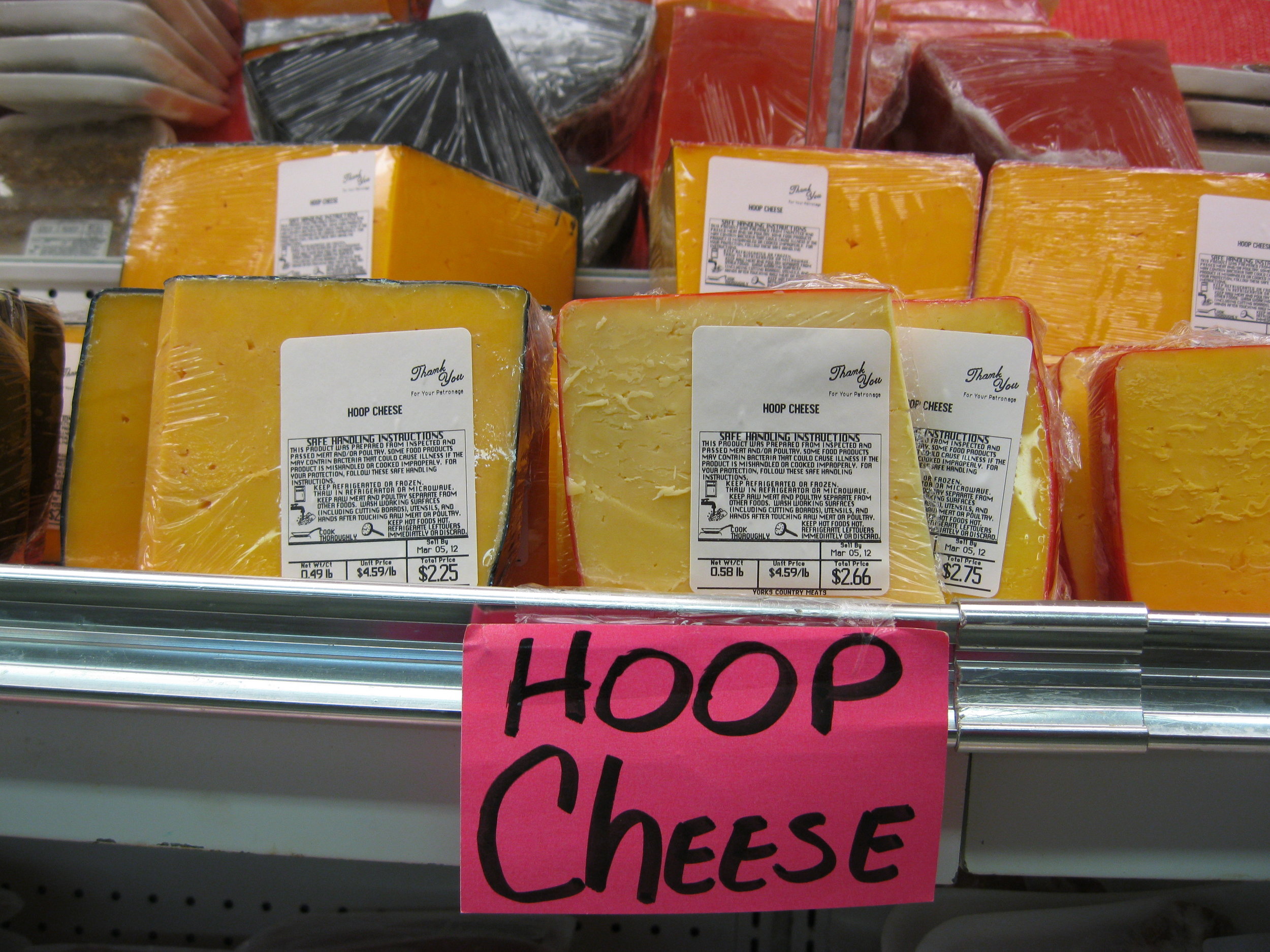Hoop Cheese em's on the road