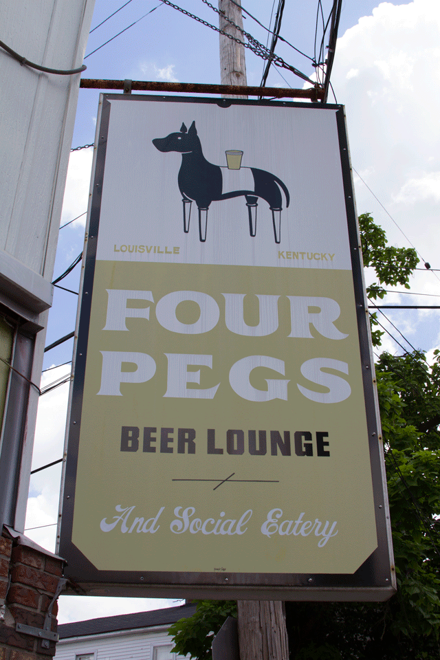Four Pegs, Louisville