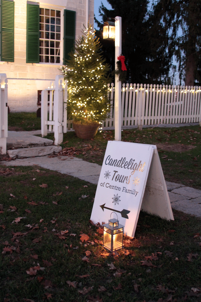 candlelight tours at shaker village | Em's on the Road