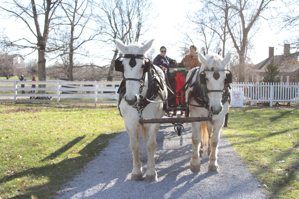 Holidays at Shaker Village | Em's on the Road