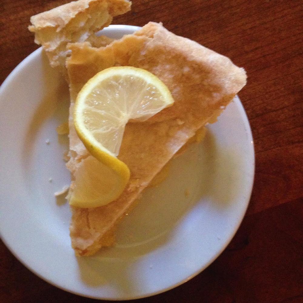 pie at shaker village