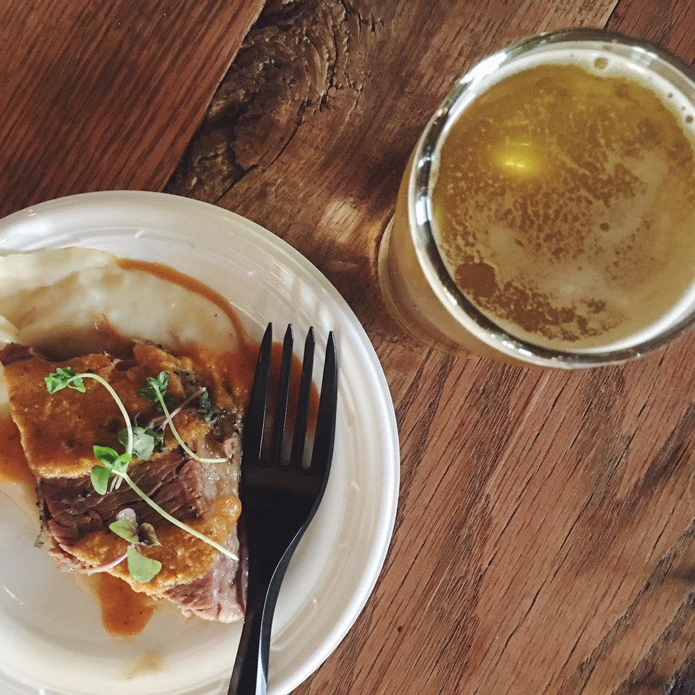 beer paired dinner | Em's on the Road