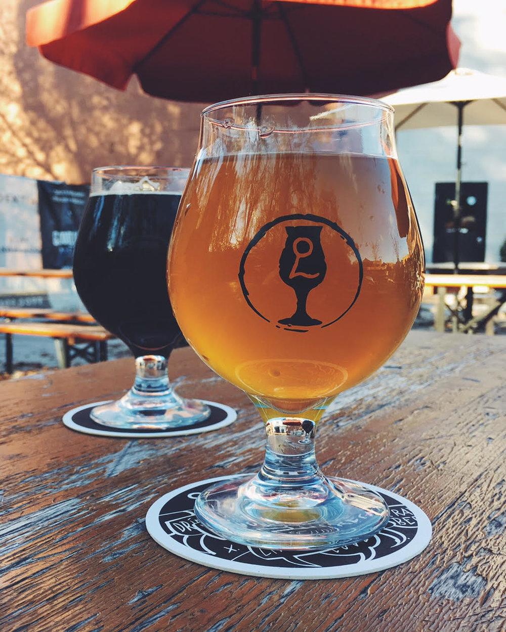 Pints at Ethereal Brewing in Lexington, Kentucky