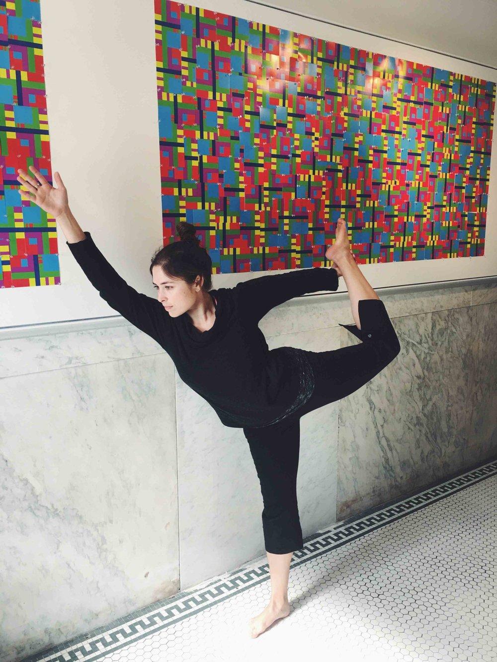 Yoga with Art