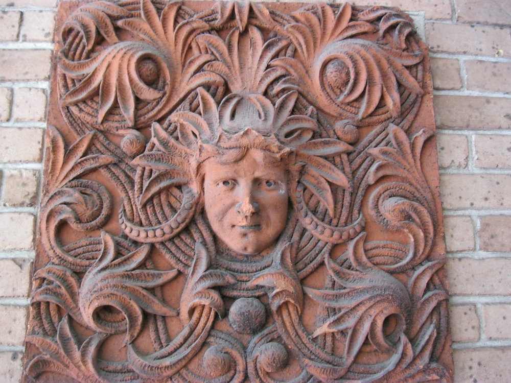 old desoto savannah, georgia terracotta