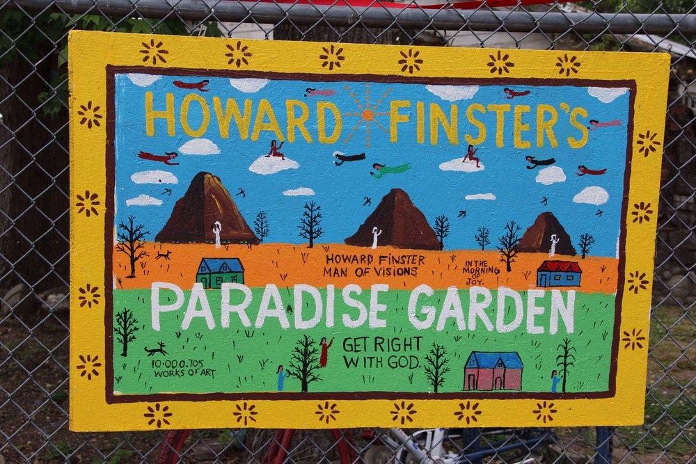 Howard Finster Paradise Garden Emsontheroad