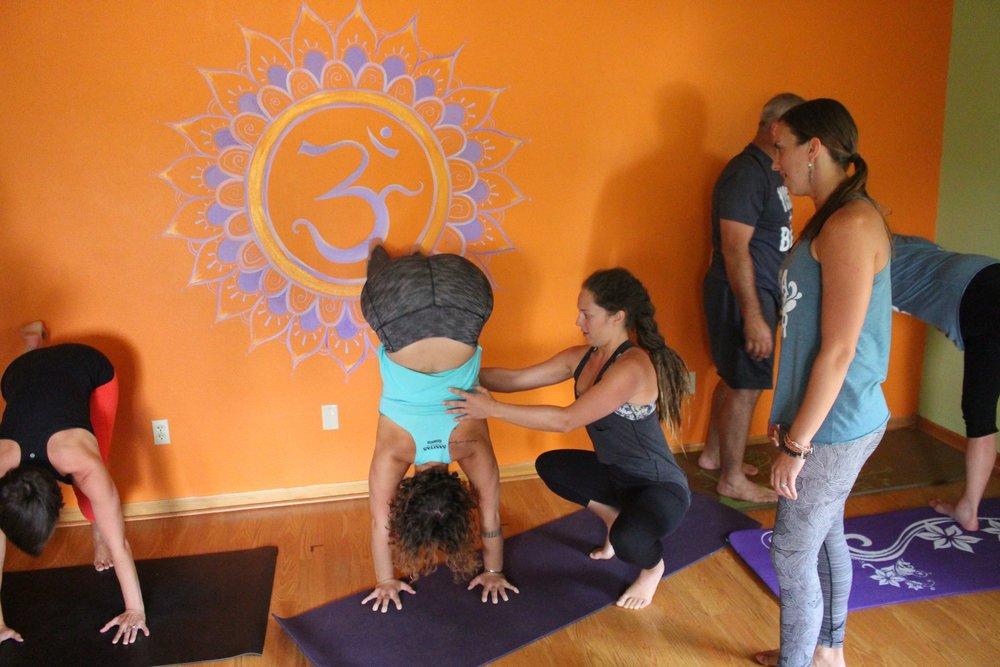 beer yoga class oregon