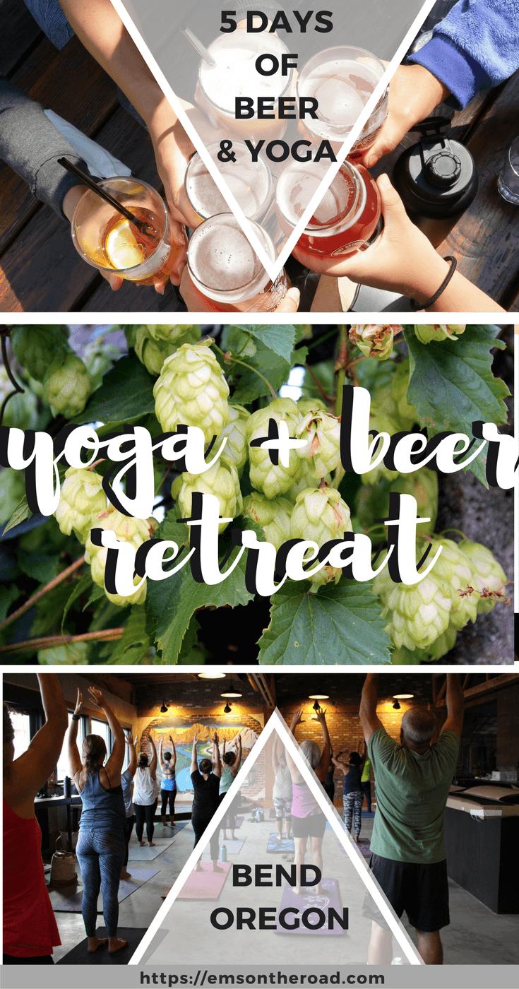 Yoga + Beer Retreat in Bend Oregon