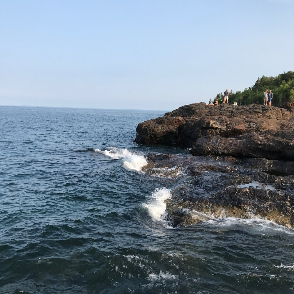 Black Rocks, Marquette, Michigan