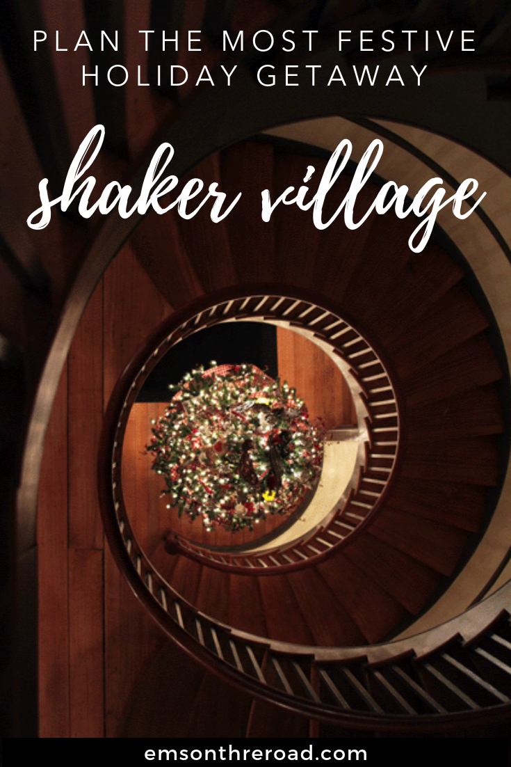 Plan the Most Festive Holiday Getaway at Shaker Village