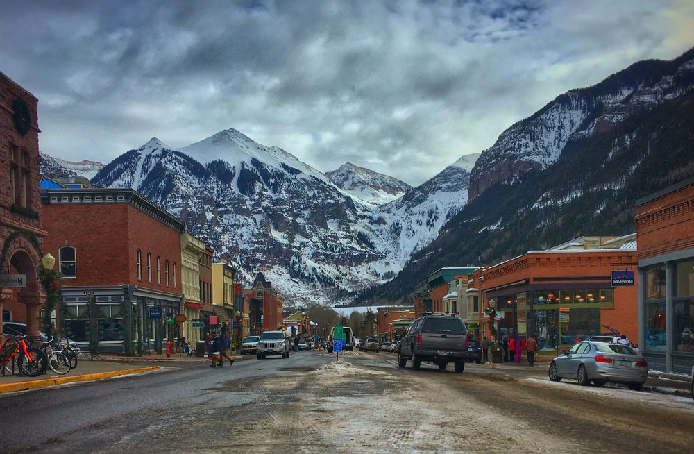 Downtown Telluride, Colorado by Day by Melissa Downham of The Roaming Family