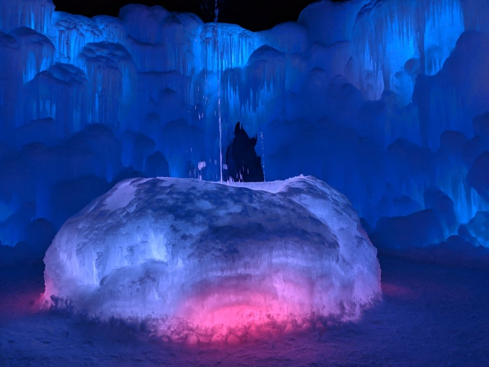 Ice Castles in Midway by Melissa of Parenthood and Passports