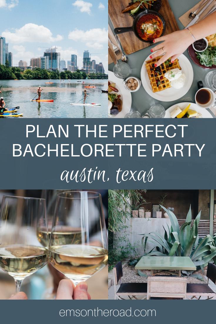 How to plan the perfect bachelorette party in Austin Texas. #bachelorette #austintx