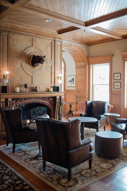Lobby Bar Lounge Jekyll Island Club Resort