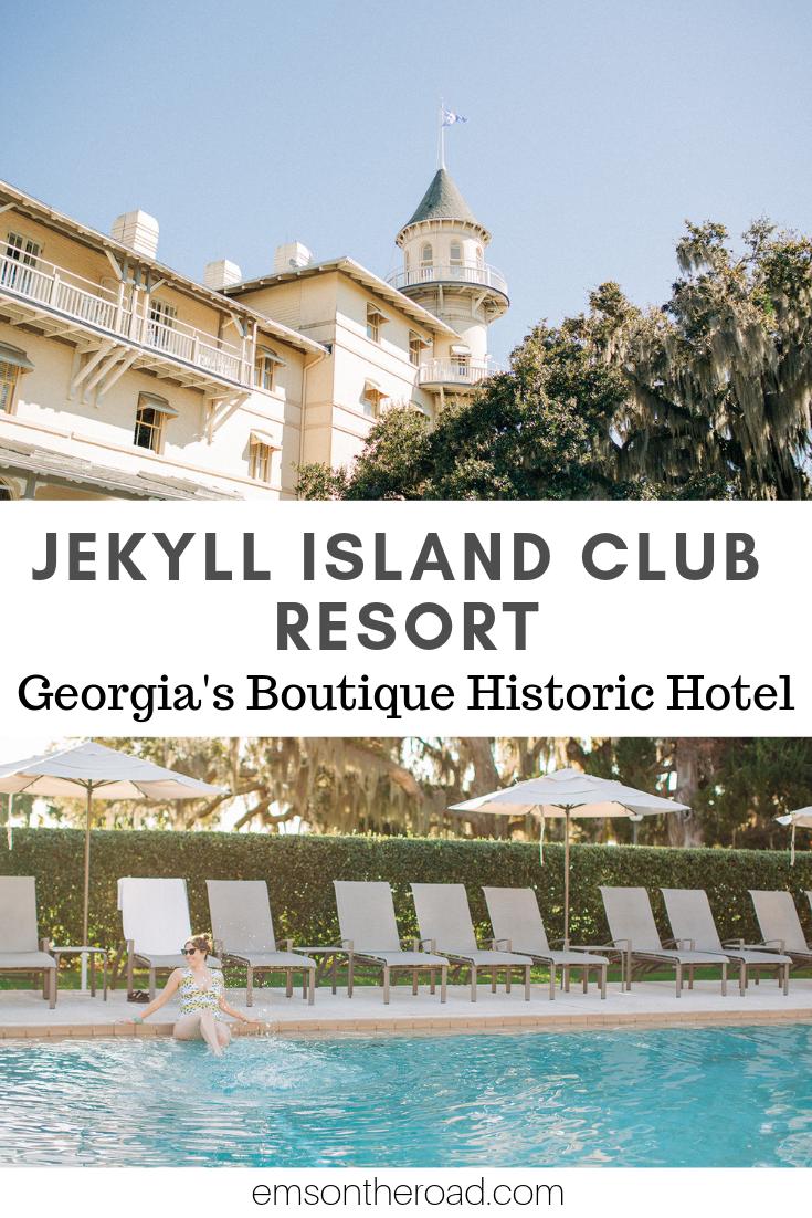 Explore the Jekyll Island Club Resort, Georgia's Historic Boutique Hotel