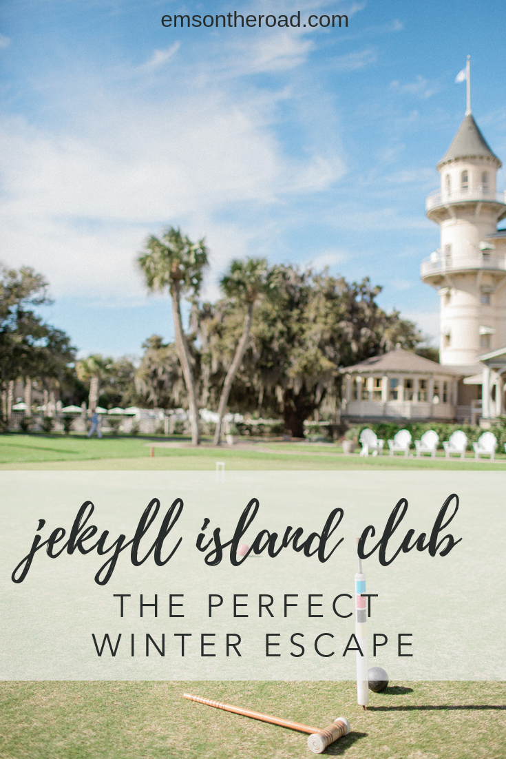 Jekyll Island Club Resort is the perfect winter escape in Georgia