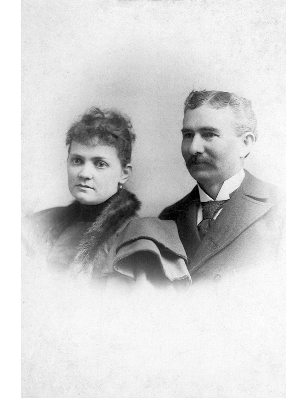 Cornelia Alice Norris and Matthew Tyson Norris