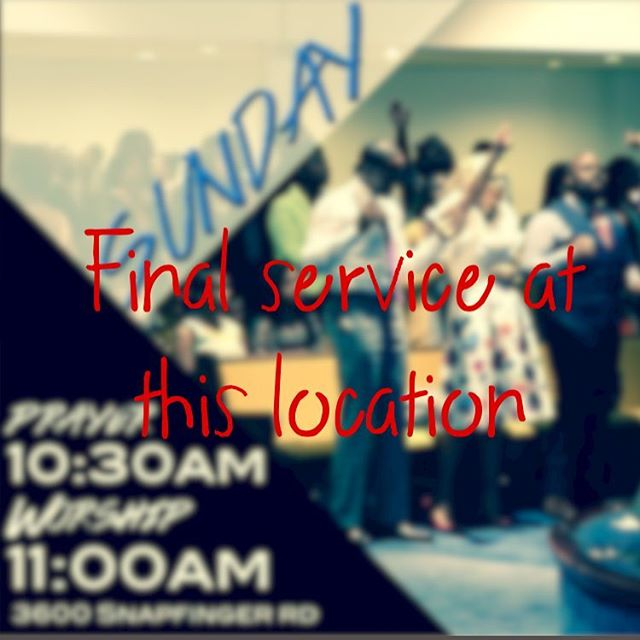 "🚨Update🚨 :  After much discussion it's been determined that our FINAL service at 3600 Snapfinger Road will be this Sunday December 4, 2016 . As of this moment, we have not secured a new location.  As always, our trust is in the Lord. This is His church, so we believe He'll provide a place for us. We must all believe in the vision of the church and remember God is FOREVER faithful! Please let us know about any potential locations and if you have any questions send them to thegatheringoasis@gmail.com.  We will keep you posted of any updates in regards to our new location. Make sure that you are plugged in by downloading our app & subscribing to be updated when we post on Instagram !  Please keep the leaders of the church uplifted in prayer as we move forward! ""But blessed are those who trust in the LORD and have made the LORD their hope and confidence. They are like trees planted along a riverbank, with roots that reach deep into the water. Such trees are not bothered by the heat or worried by long months of drought. Their leaves stay green, and they never stop producing fruit."" Jeremiah 17:7-8 NLT  Look forward to seeing everyone Sunday!"