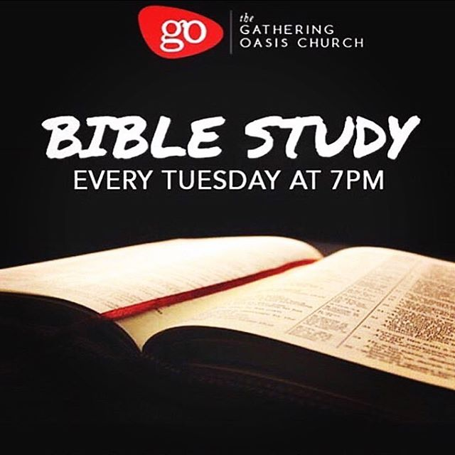 Hello Gatherers! Join us for Bible study tonight as we dive deeper into scripture at 7pm via our YouTube Channel: The Gathering Oasis Church or through our mobile app which can be found under the name, The Gathering Oasis Church. Tune In! BE encouraged! #gathergrowgo #thegatheringoasischurch