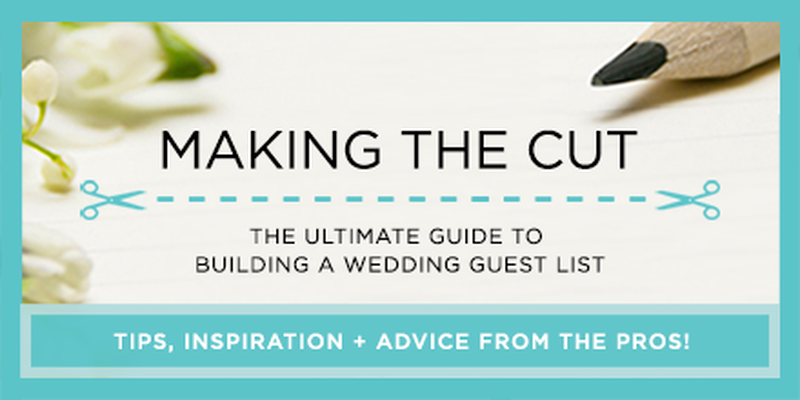 3 stress free tips for trimming the wedding guest list ripple street
