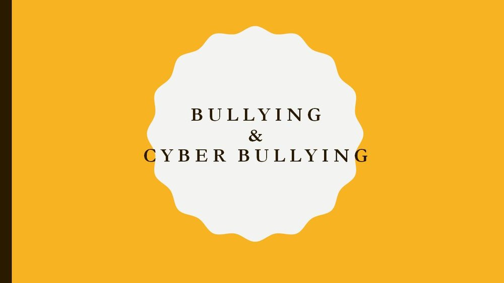 Bullying and Cyber bullying (Socio Cognitive Intervention) (Public Safety)   Purpose:The purpose is to identify the behaviors and effects of bullying and cyber bullying in various relationships public and social spaces.  The outcome is to educate and inform individuals to decrease the aftermath of this type of power and control has upon the community collectively and individually.