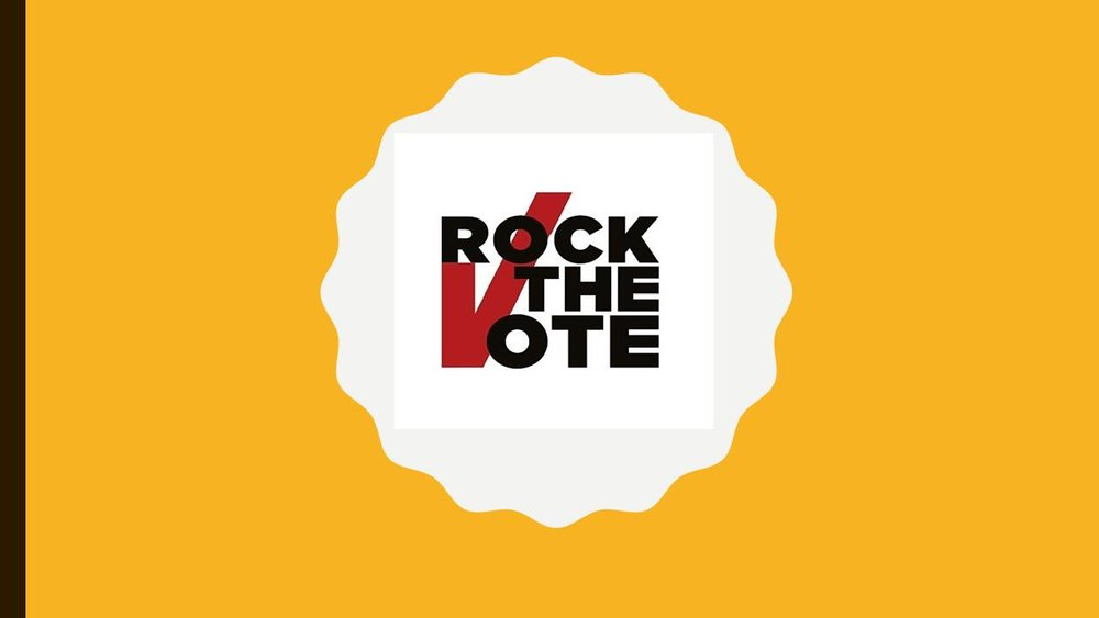 Since 2012 P.E.A.C.E. for Peace has collaborated with  Rock the Vote  to register and turning out millions of new voters.   For more than 25 years, Rock the Vote has revolutionized the way we use pop culture, music, art and technology to inspire political activity. The organization has pioneered ways to make voting easier for young adults by simplifying and demystifying voter registration and elections.    November local elections are essential..Know the platform, know the candidates, know your rights and exercise your vote!    Your  VOTE  is Your  VOICE,   what are you saying?