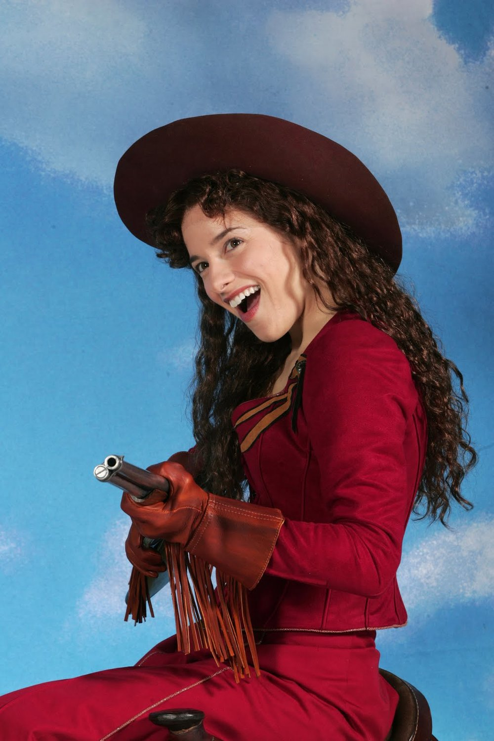 Jenn Gambatese is Annie Oakley in Goodspeed Musicals' ANNIE GET YOUR GUN Photo by Diane Sobolewski.jpg
