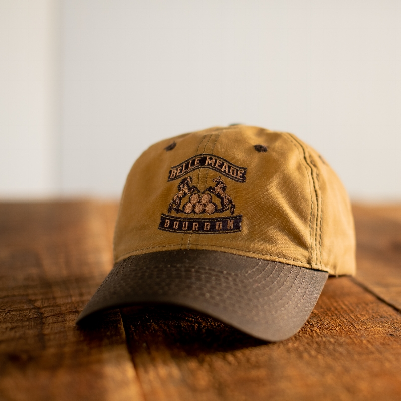 40569b08 Belle Meade Bourbon Waxed Canvas Cap