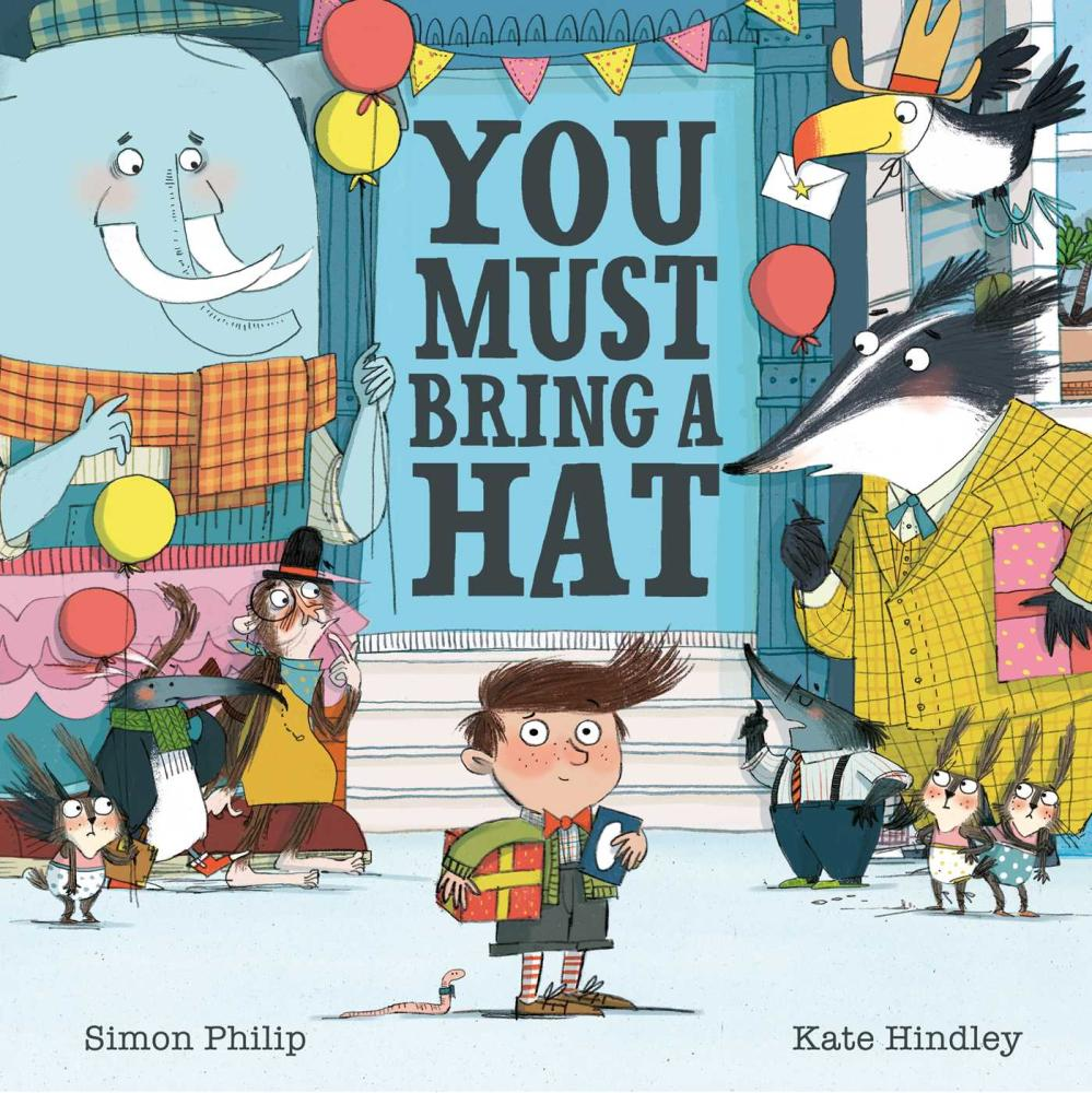 Book cover of You Must Bring a Hat by Simon Philip