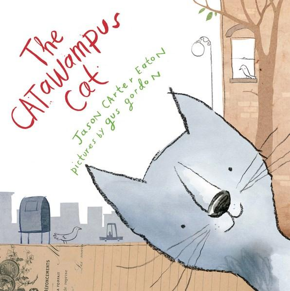 Book Cover of the Catawampus Cat by Jason Carter Eaton