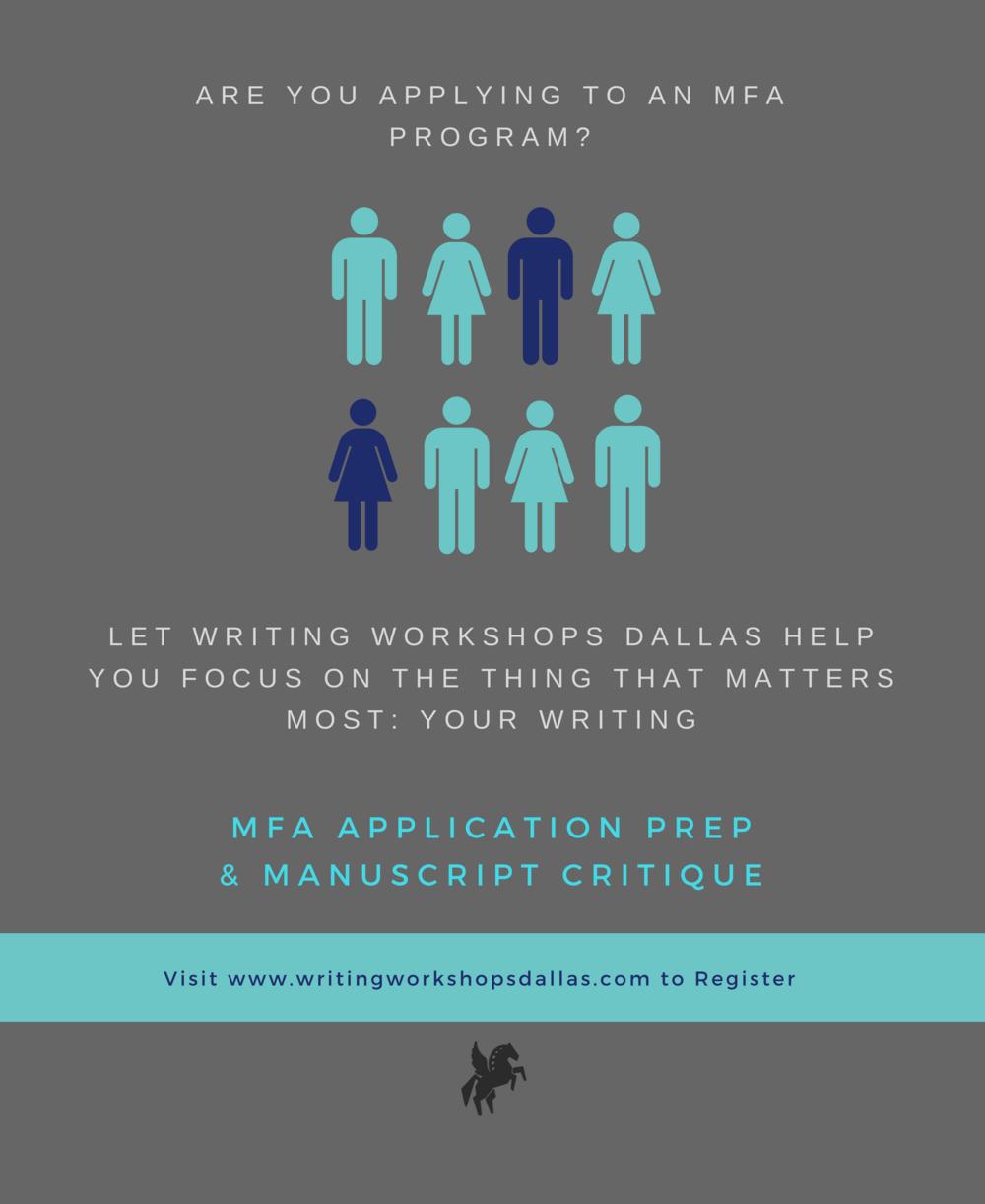 writing workshops dallas, tx creative writing