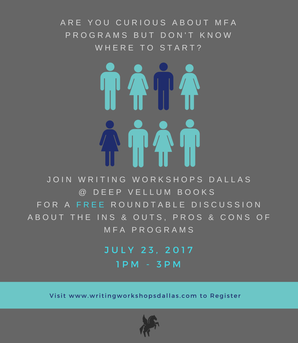 MFA Program Seminar Writing Workshops Dallas