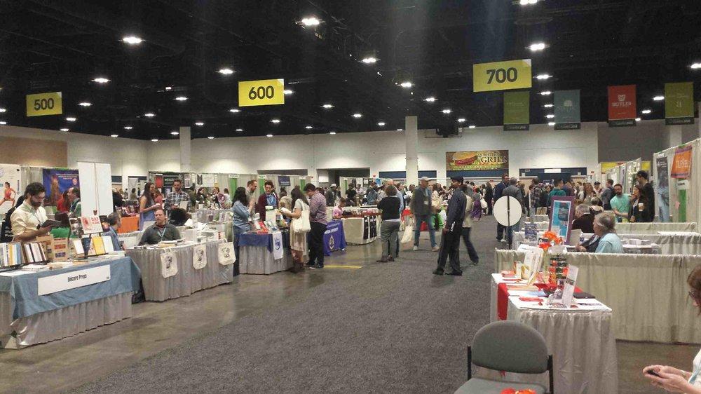 AWP 2018 Day 3 Recap: The Bookfair, Reported by Frank Caliri