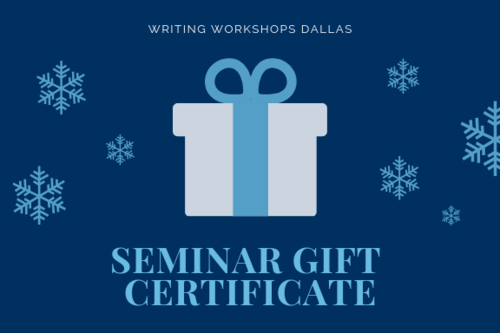 holiday gift certificates now available at writing workshops dallas