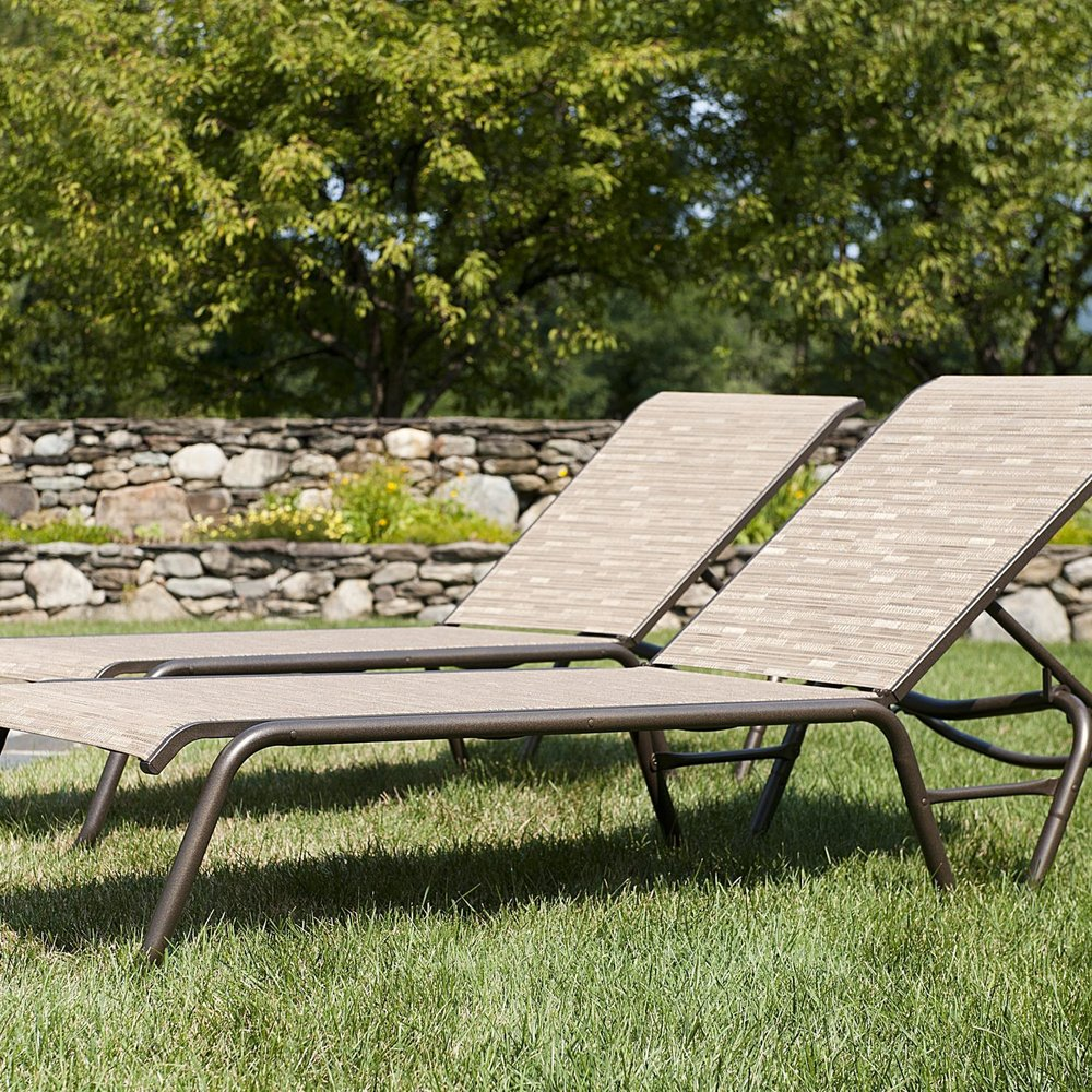 GARDENELLA SLING CHAISE LOUNGE