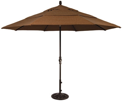 11' FOOT COLLAR TILT UMBRELLA