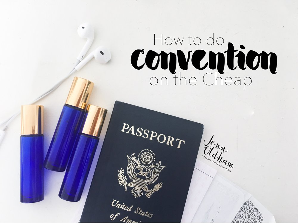 How to do Convention on the Cheap