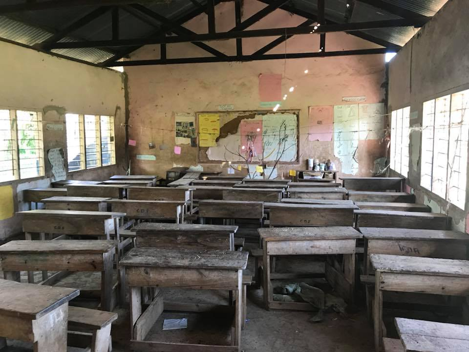 School Room in Kenya, jennoldham.com