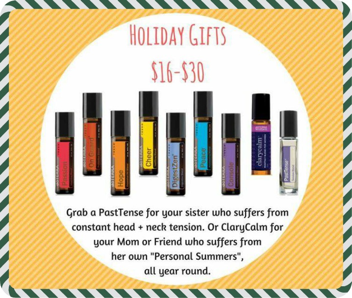 Natural Holiday Gift $16-30